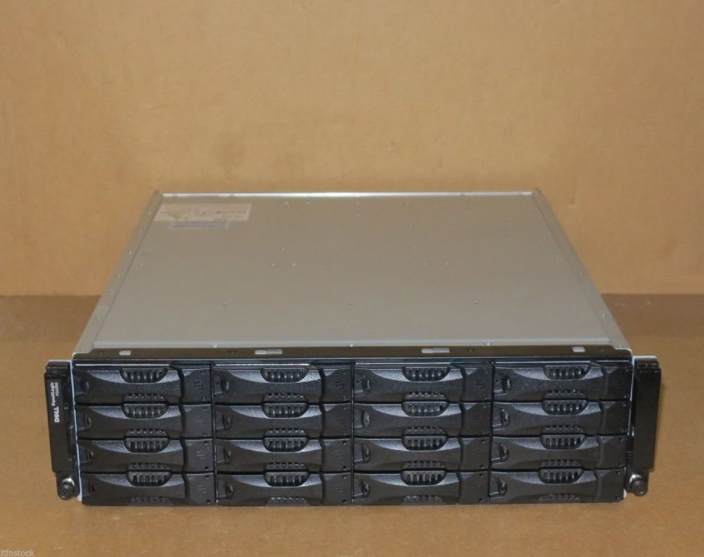 Dell EqualLogic PS6000XV Virtualized iSCSI SAN Storage Array 16 x 450Gb 15k